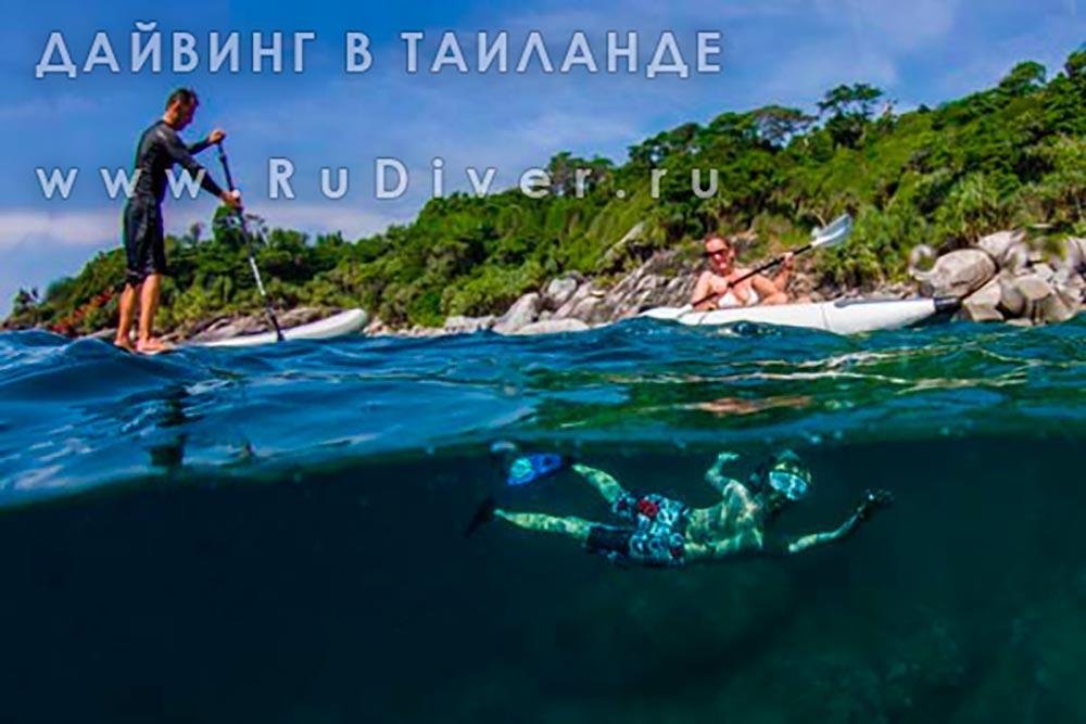 RuDiver family diving phuket дайвинг снорклинг пхукет таиланд
