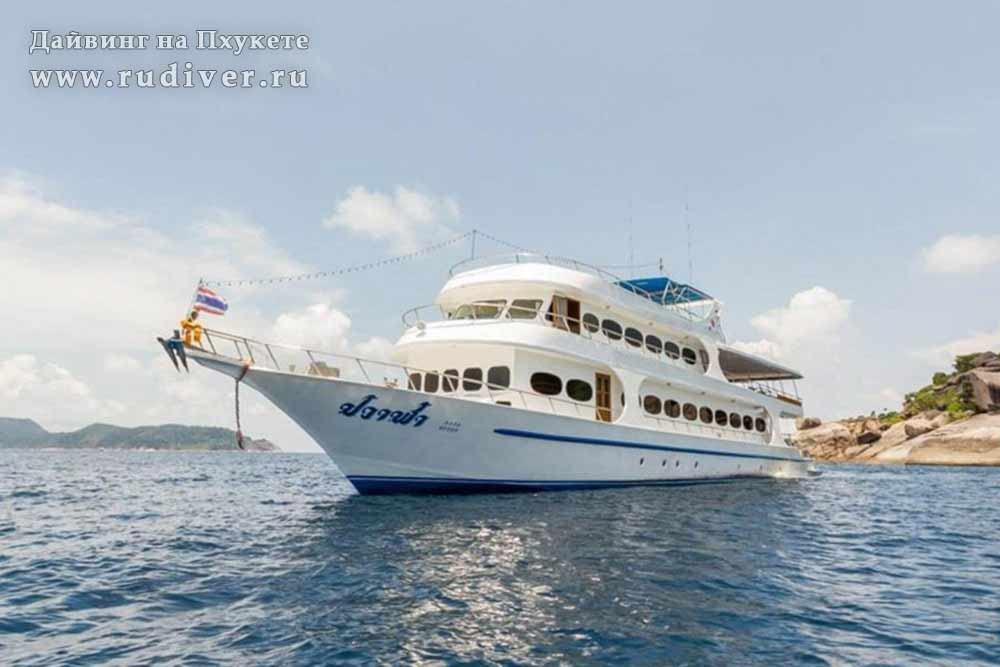 Корабль для дайв-сафари премиум класс -2