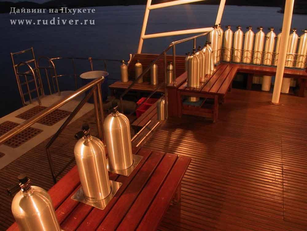 Корабль для дайв-сафари премиум класс №1